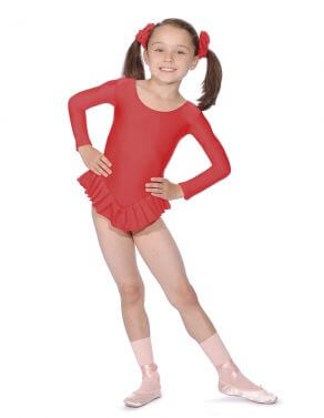 Roch Valley NF102 Long Sleeved Frilled Leotard